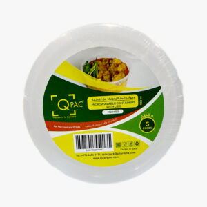 Microwave container with lids 450ml 5pcs